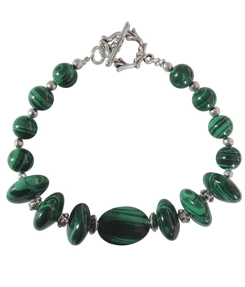 Pearlz Ocean Self Styled Gemstone Beads 7.5 Inch Bracelet