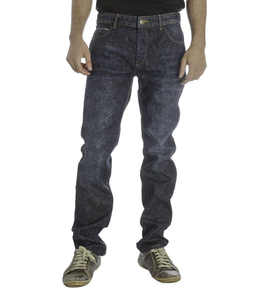 Imyoung Navy Slim Fit Jean