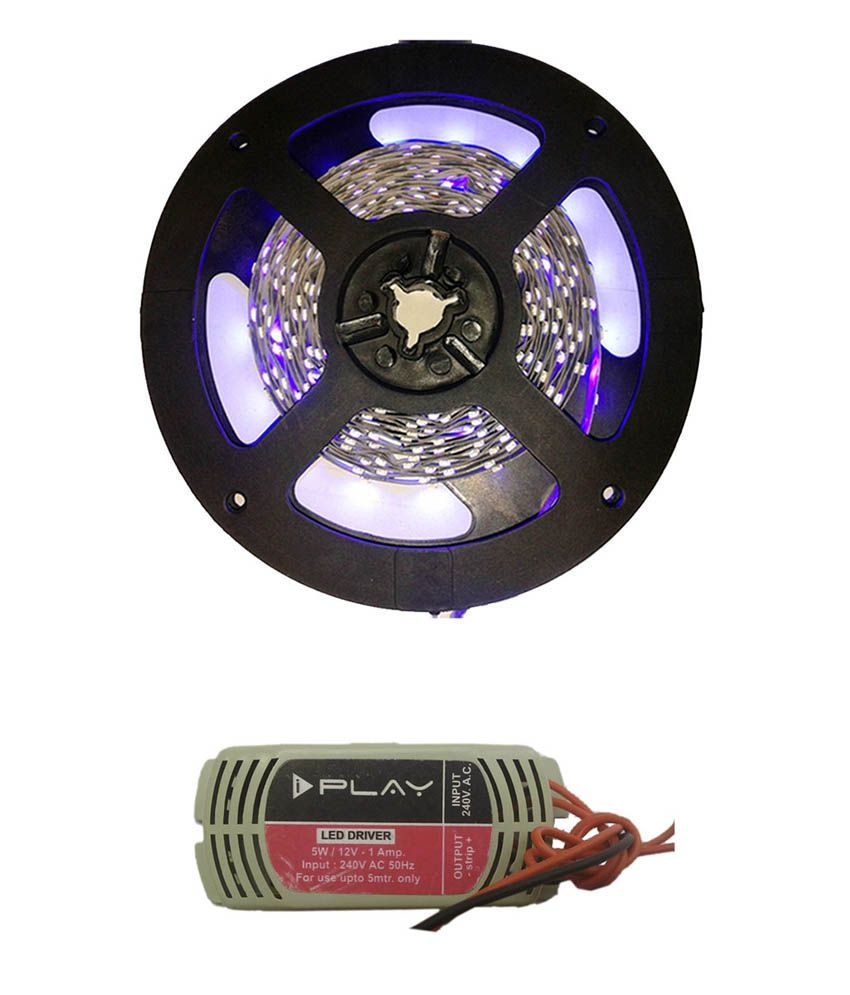 Iplay Purple Led Strip Light With LED Driver
