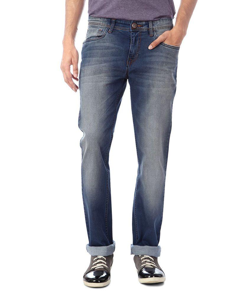 Van Heusen Blue Slim Jeans