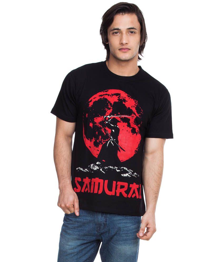 Zovi Samurai Caviar Black Graphic T-shirt