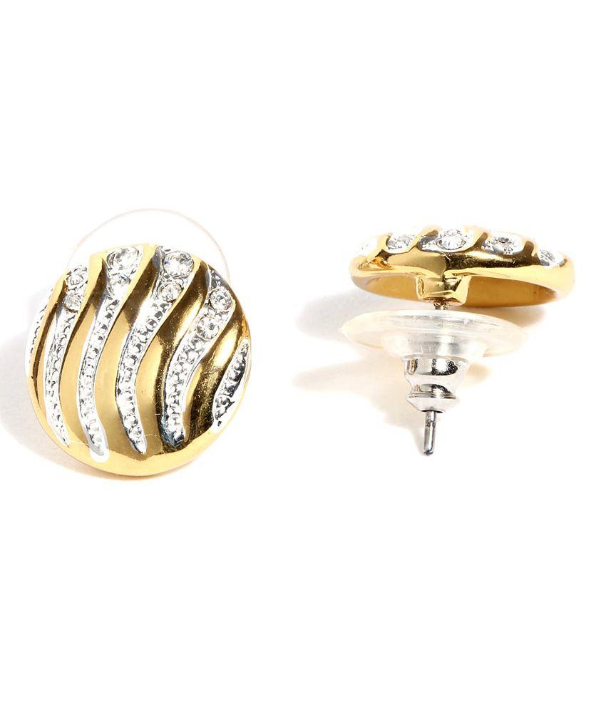 6a0d7dc7161 Estella Golden Stud Earrings - Buy Estella Golden Stud Earrings ...