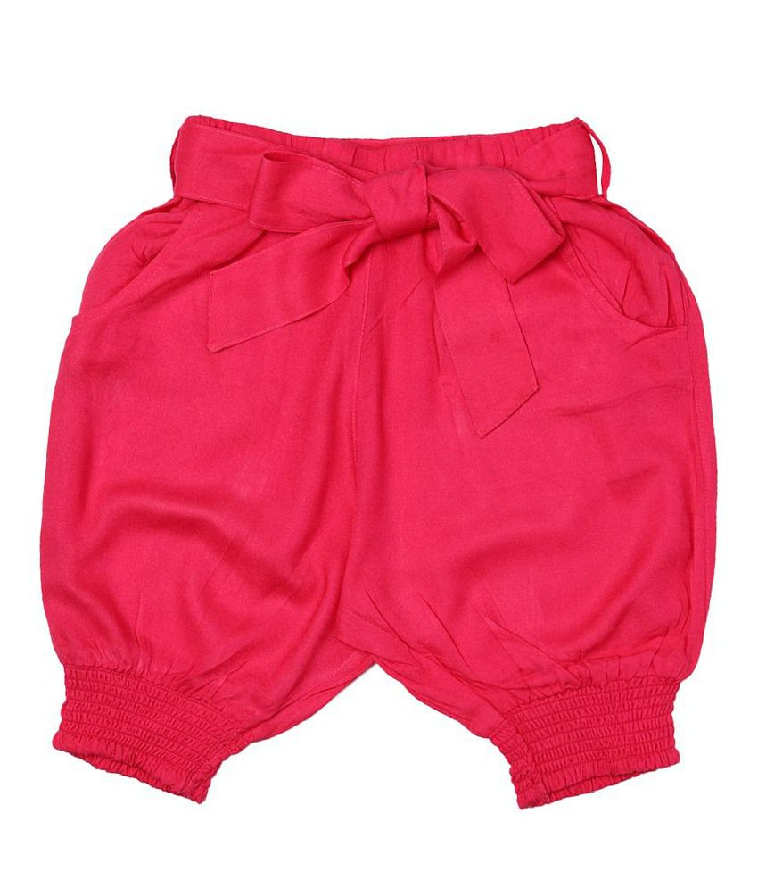 People Pink Capris For Girls