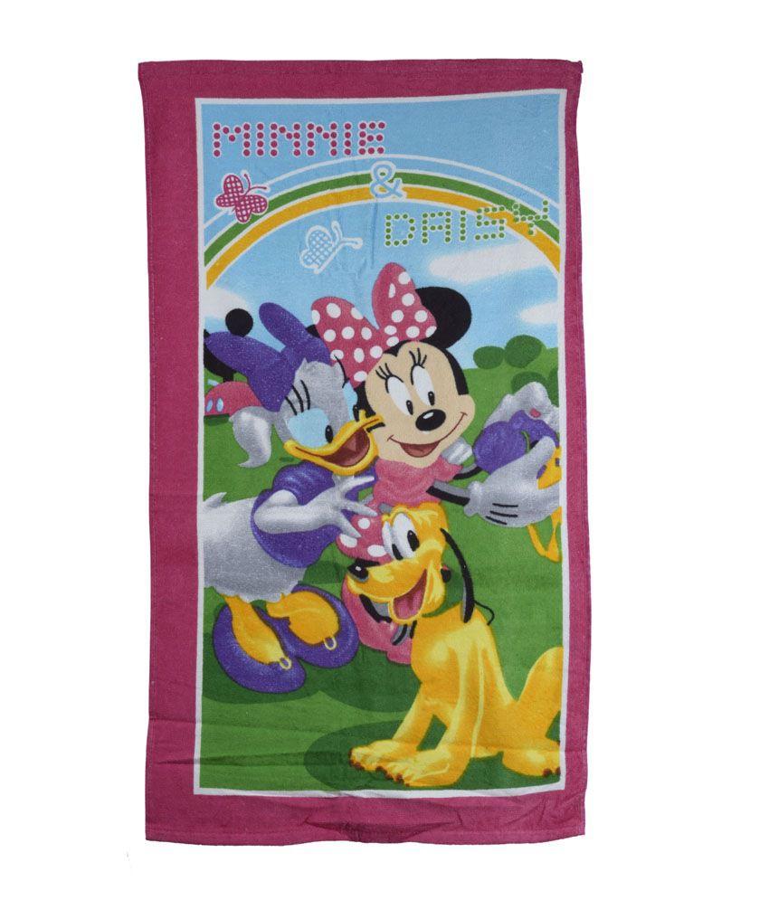 Disney Sassoon Multi-colour Cotton Bath Towel