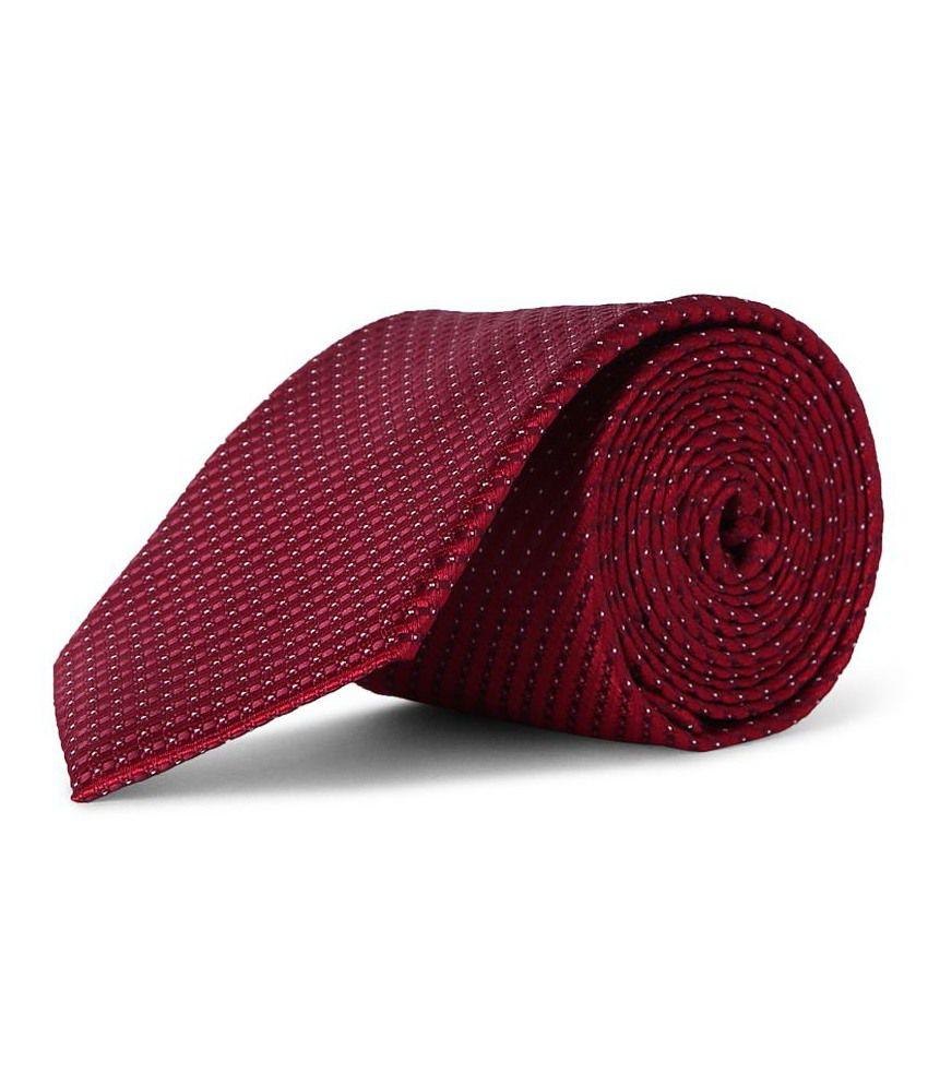 Van Heusen Red Formal Broad Ties