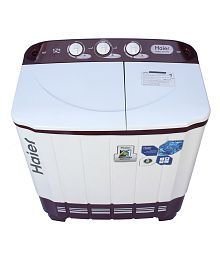 Haier 6.2 Kg XPB 62-0613RU Semi Automatic Top Load Washing Machine Ruby Red