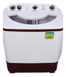 Videocon 6 Kg VS60A12 Semi Automatic Top Load Washing Machine White
