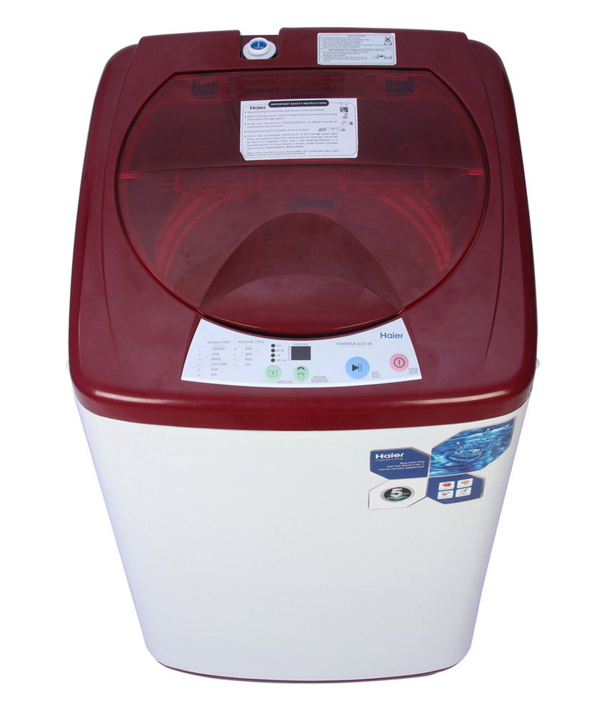 Haier 5.8 Kg 58-020-R Fully Automatic Top Load Washing Machine Red