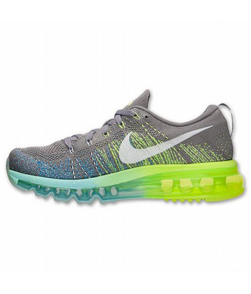 new products f45d1 1112c Nike Flyknit Air Max Running Sports Shoes