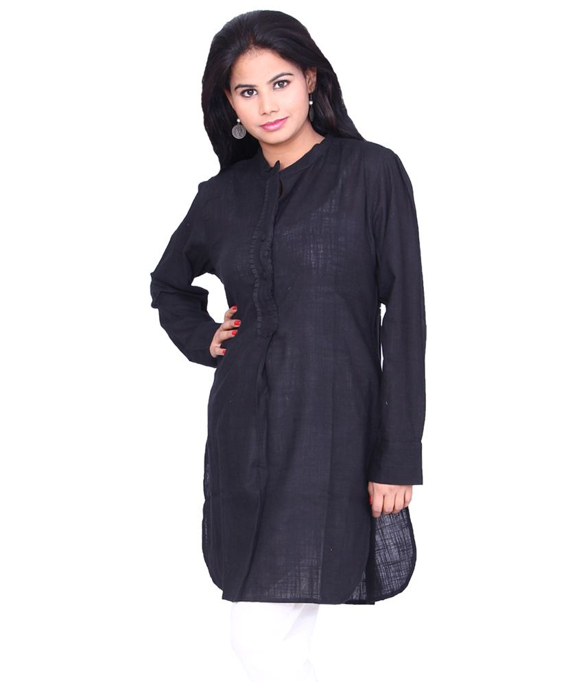 Chhipa Women Apple cut 100% Cotton Linen Black Kurti - Buy Chhipa Women Apple  cut 100% Cotton Linen Black Kurti Online at Best Prices in India on Snapdeal ccfa4cc7e