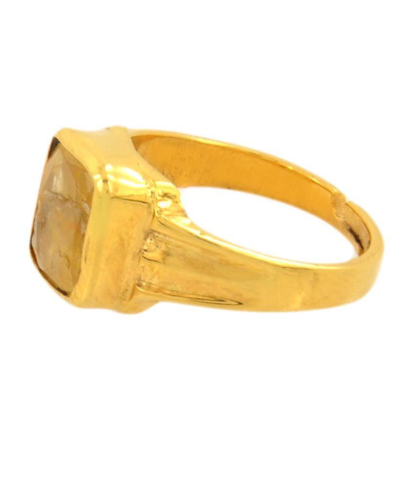 Barishh Yellow Sapphire 6 50 Ratti Square Cut Gemstone