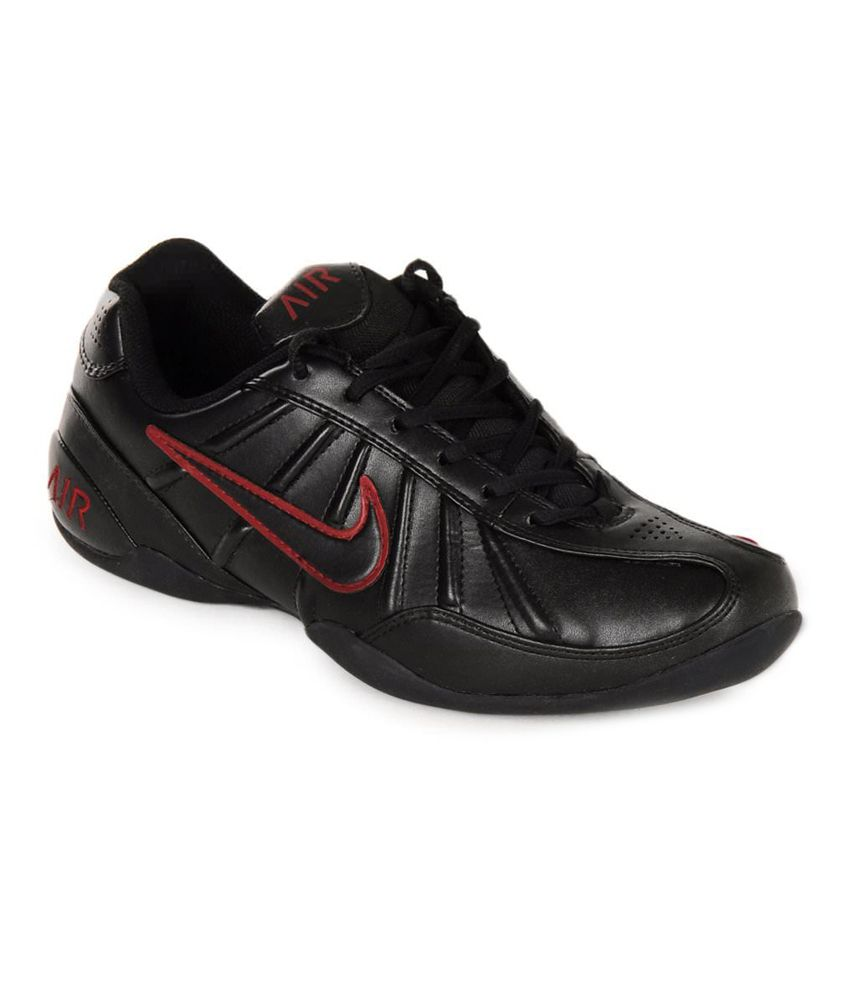 27015100a438 ... uk nike black synthetic leather sport shoes 05eb2 95f34