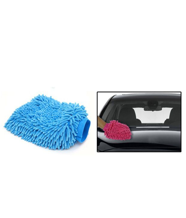 Microfiber Cloth Glove Price: Microfiber Glove Mitt For Car Cleaning Washing