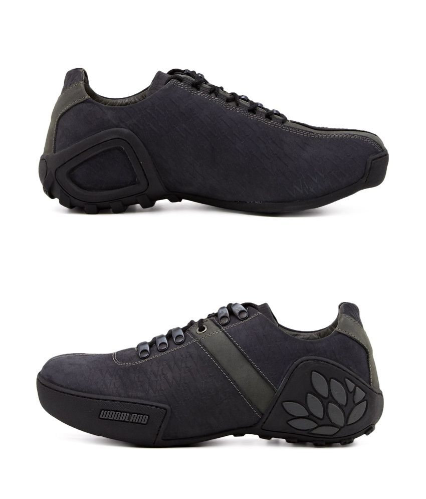 Woodland Black Outdoor Shoes