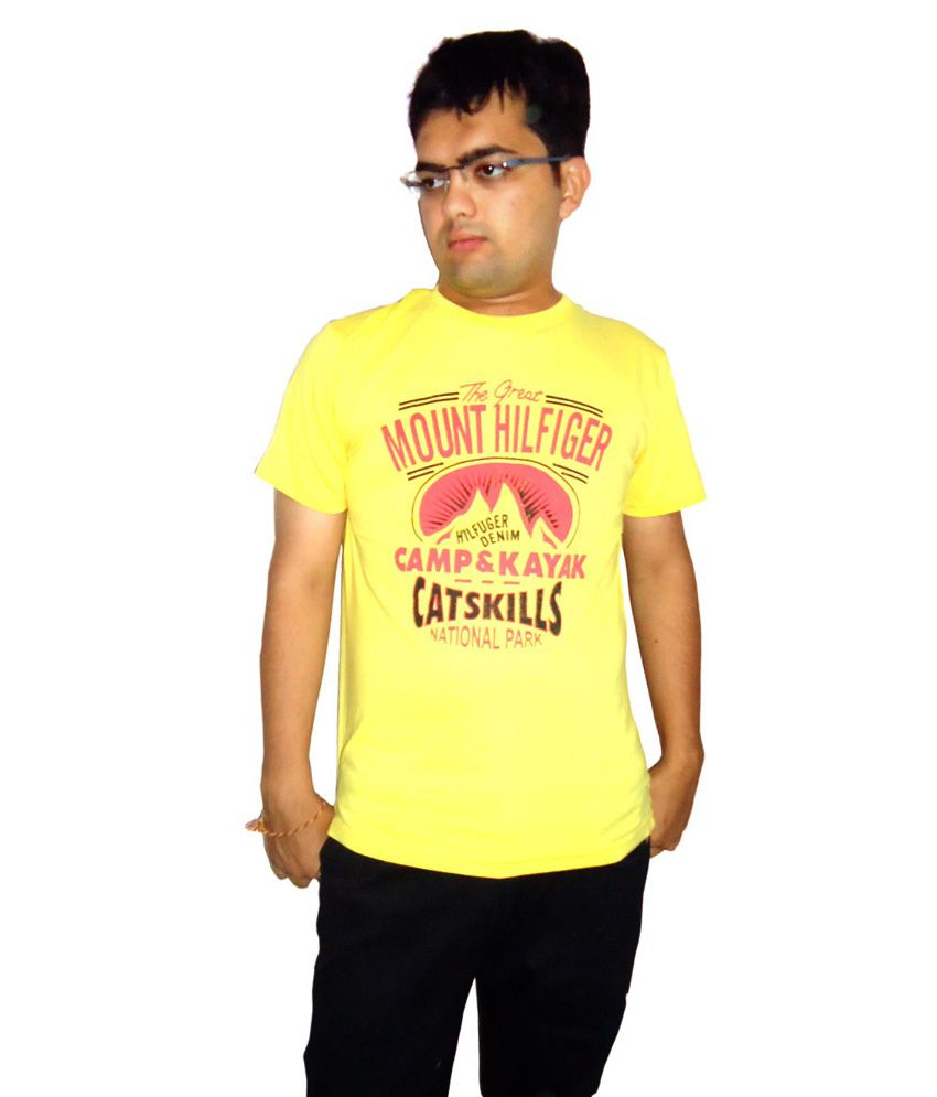 Tommy Hillfiger Tshirt Yellow