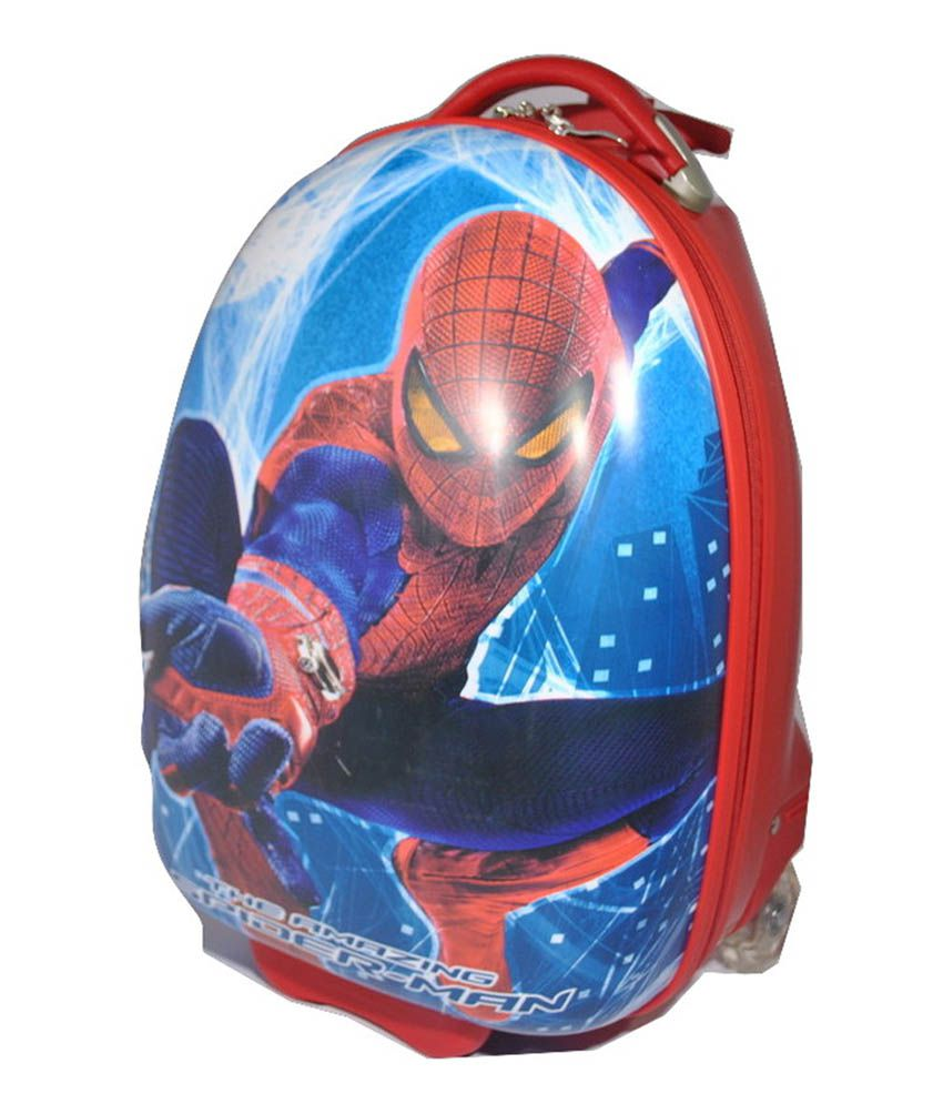 Artility Kids Red Spiderman Suitcase - Buy Artility Kids Red ...