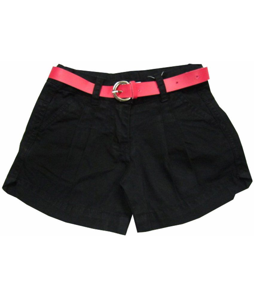 Catapult Girl's Black Shorts