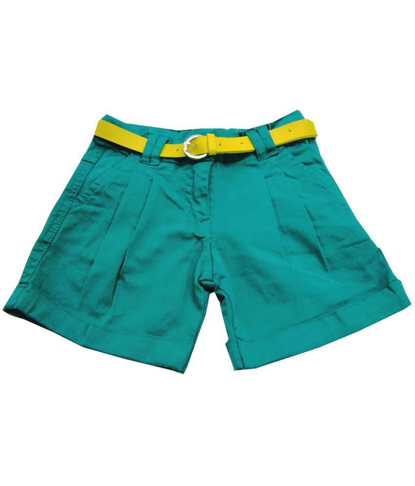 Catapult Girl's Green Shorts