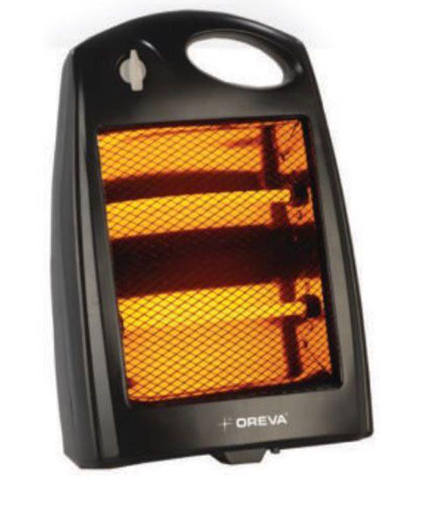 Oreva 800w orqh 1208 room heater black buy oreva 800w orqh 1208 room heater black online at - Small room space heater decor ...