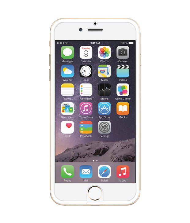 Amzer Tempered Glass HD Edge2Edge For iPhone 6, iPhone 6S - White