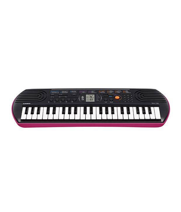 Casio SA-78 Music Keyboard