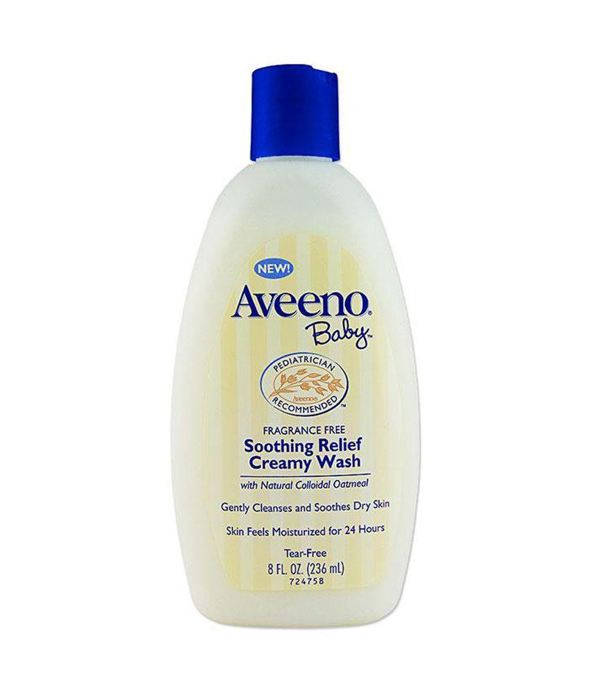 Aveeno Baby Soothing Relief Creamy Wash 236ml Buy