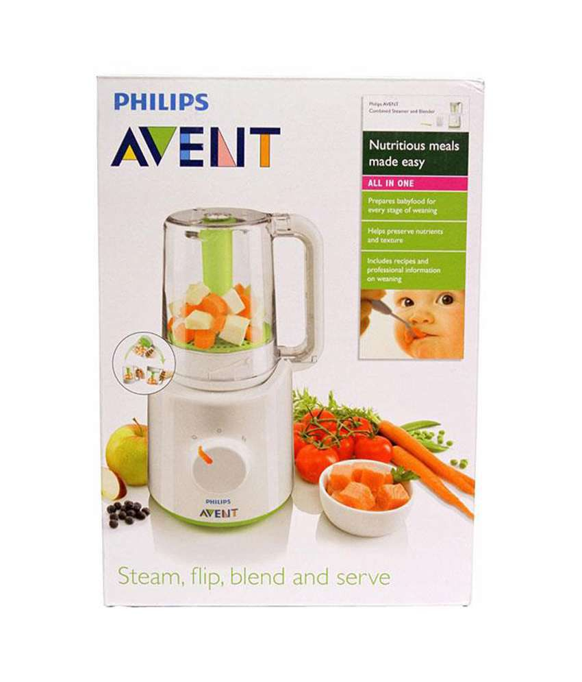 Philips avent steamer blender india