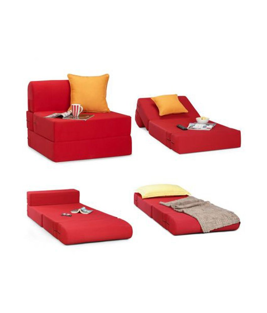 Single seater sofa bed comfortable single size sofa bed for living room home designs thesofa Single couch bed