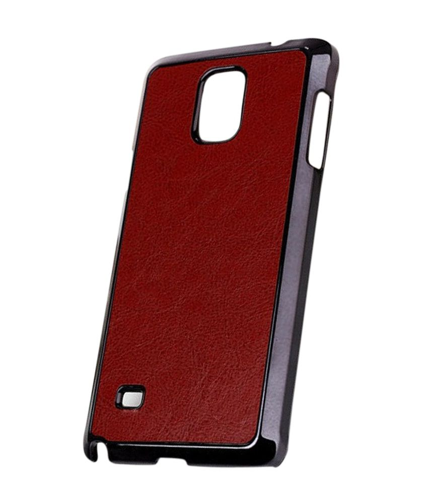 the best attitude d2068 cdf8e Excelsior Premium Leather Back Cover Case For Samsung Galaxy Note 4 (brown)