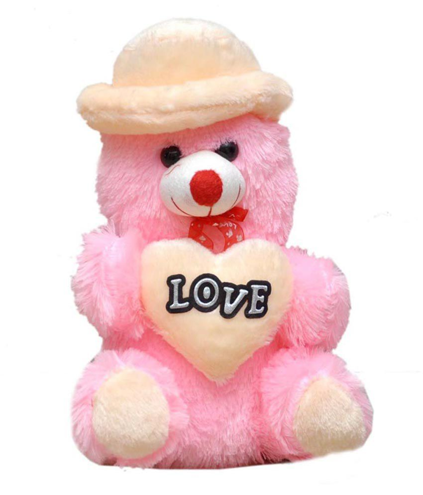 Soft Toys Product : Madhav product soft toy love teddy bear and
