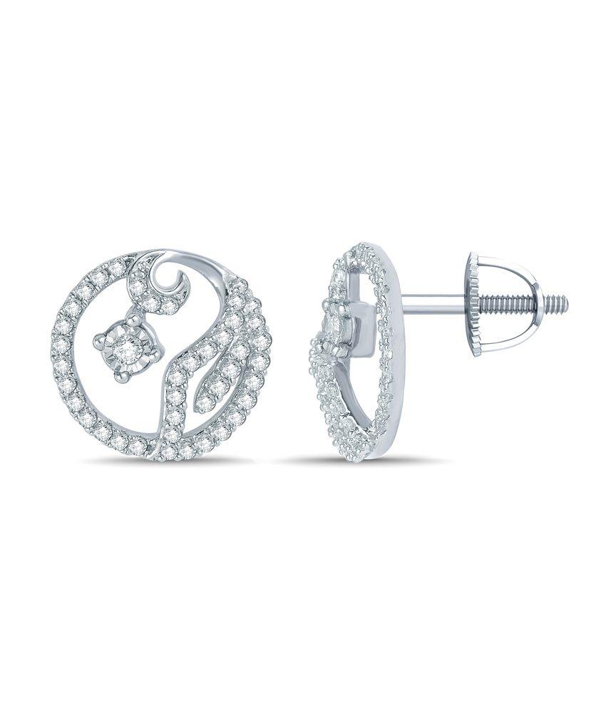 Mani Jewel 92.5Kt Silver  Kumodini  Earring