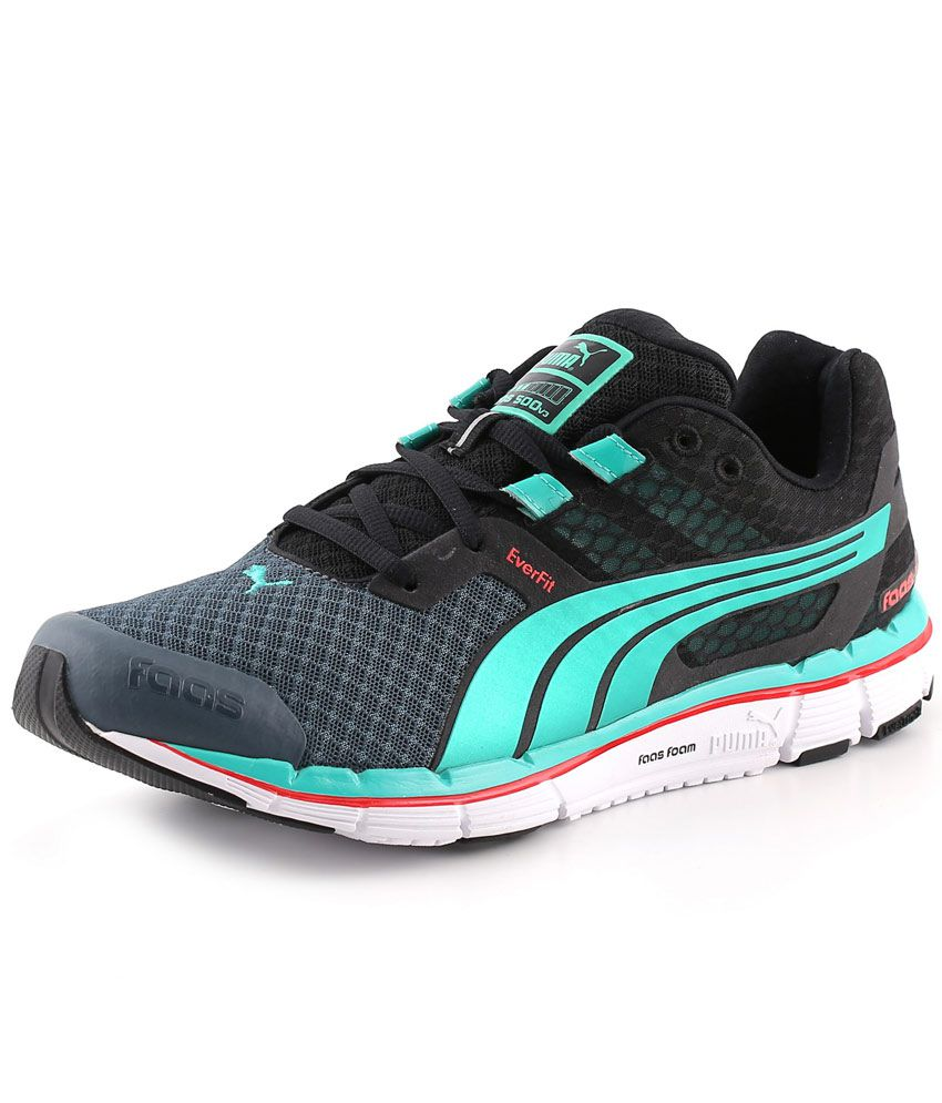 premium selection dfa72 6b34f Puma Faas 500 V3 Blue Running Shoes - Buy Puma Faas 500 V3 Blue Running  Shoes Online at Best Prices in India on Snapdeal
