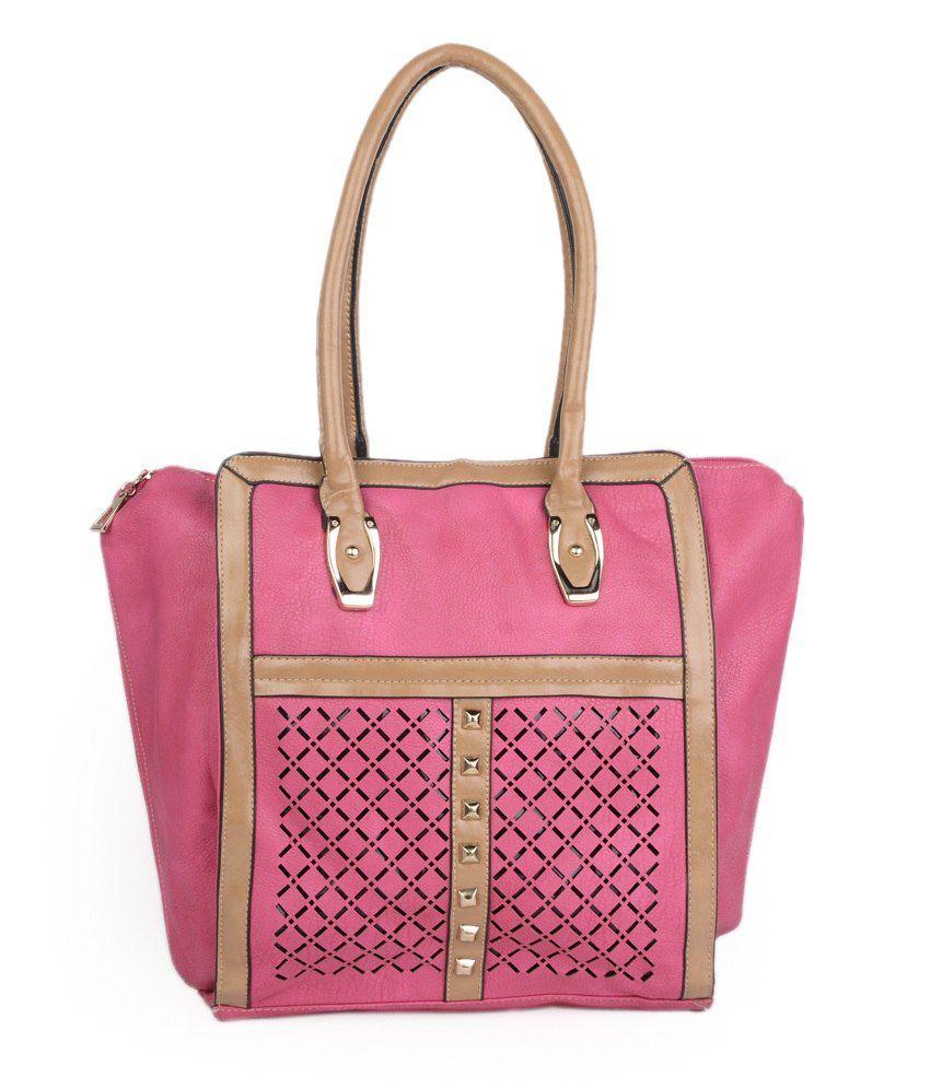 ADISA Pink Women's Handbag