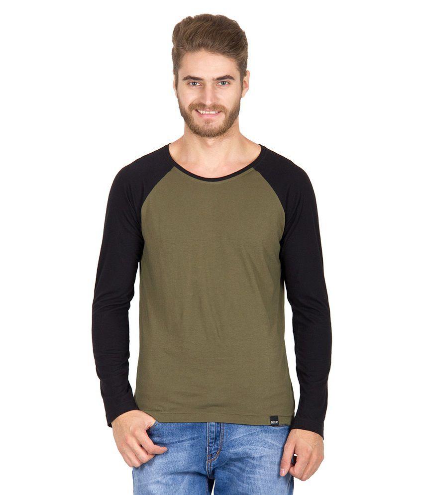 Rigo Green Cotton T-shirt