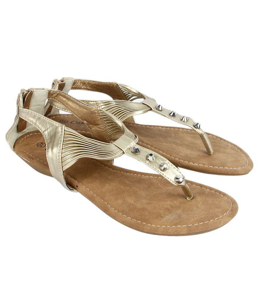 Starchi Gold Sandal