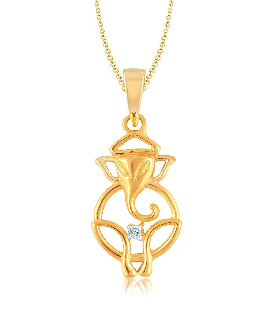 Vk jewels dharmik ganesh pendant gold and rhodium plated buy vk vk jewels dharmik ganesh pendant gold and rhodium plated aloadofball Choice Image