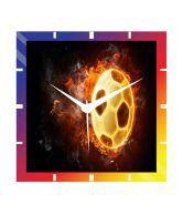 Moneysaver Football Classic Wooden Wall Clock