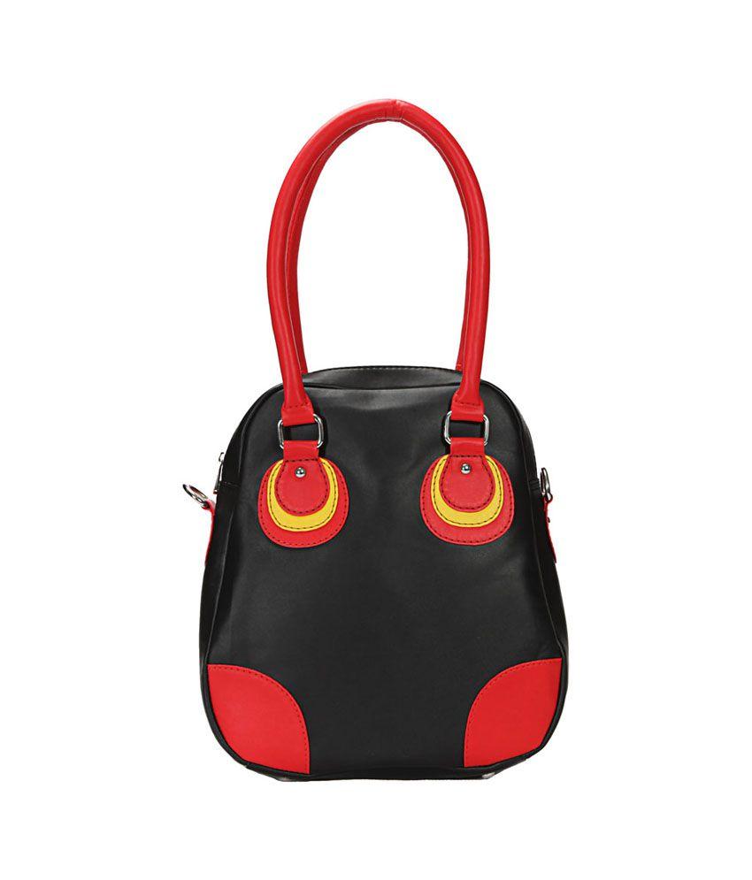 Borsavela Black Shoulder Bag