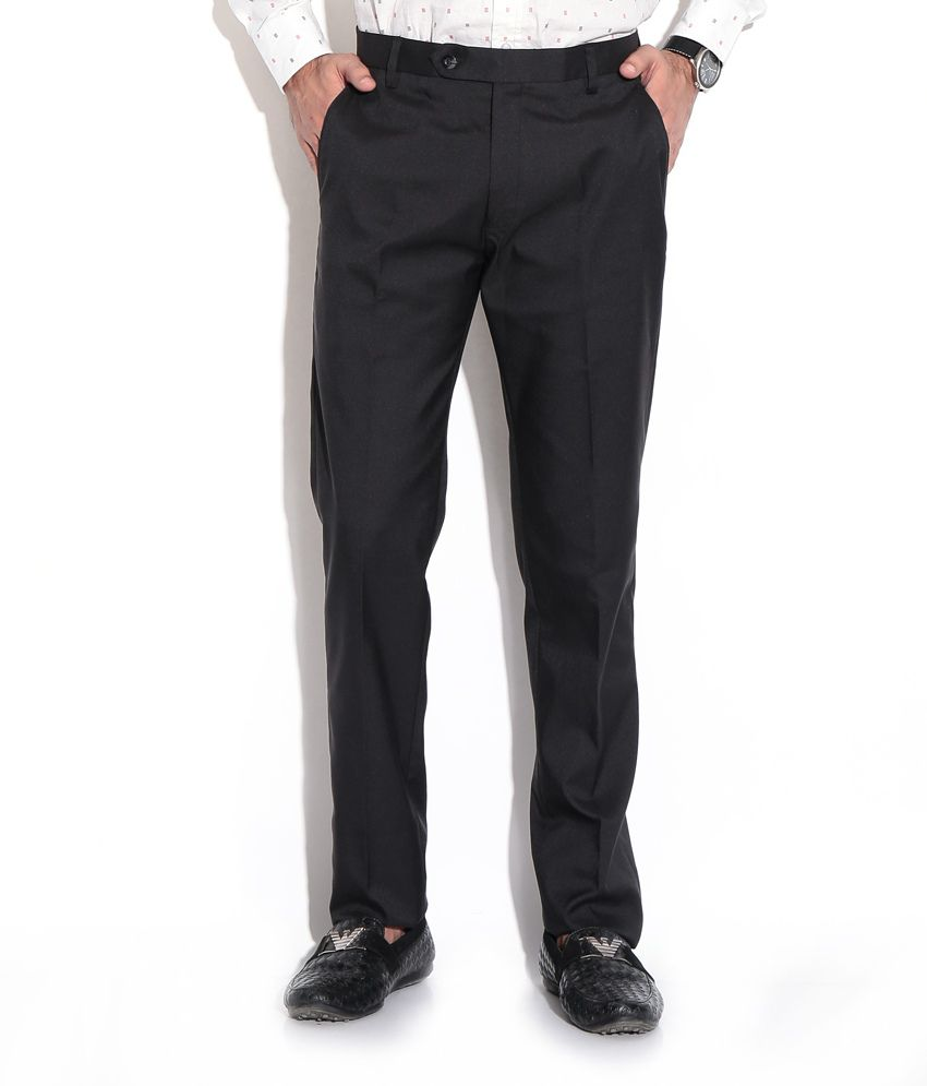 Fizzaro Black Regular Formals
