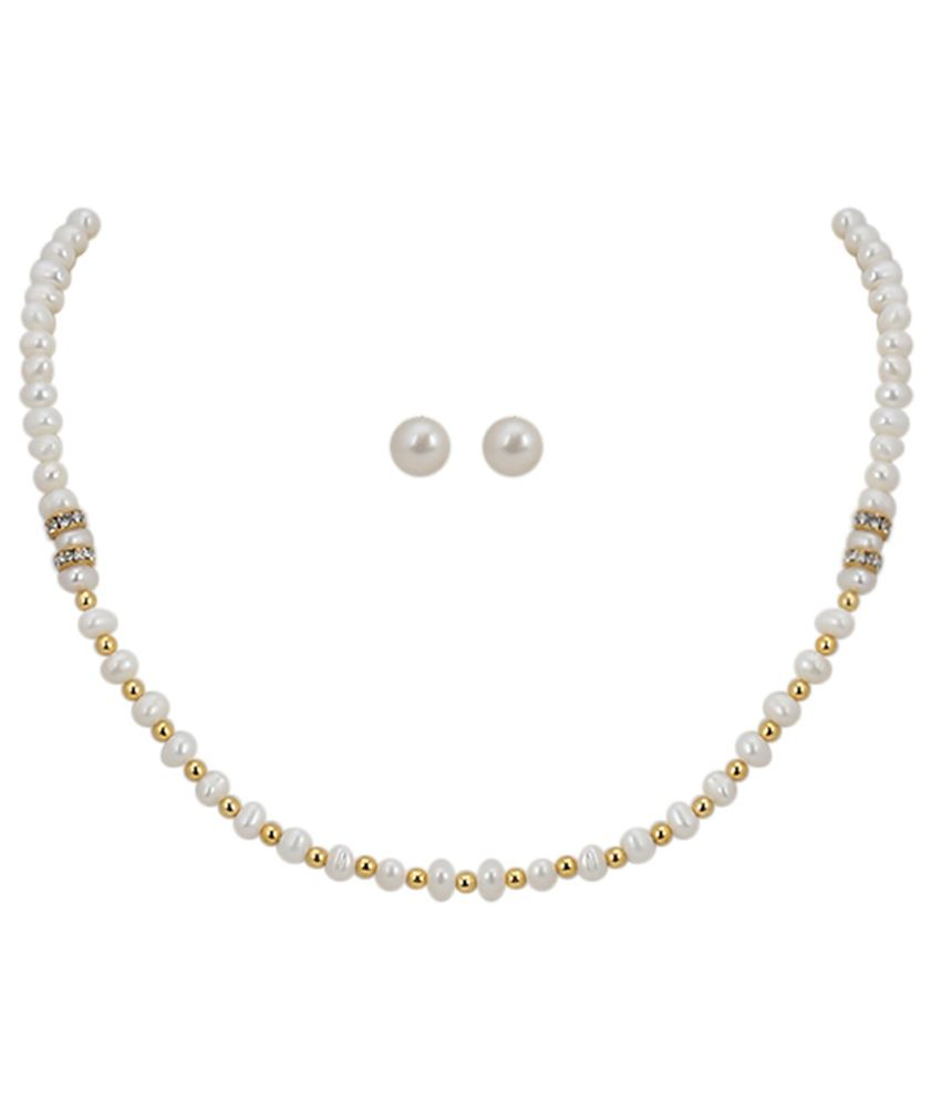 b4783747b DD Pearls Necklaces Set - Buy DD Pearls Necklaces Set Online at Best Prices  in India on Snapdeal