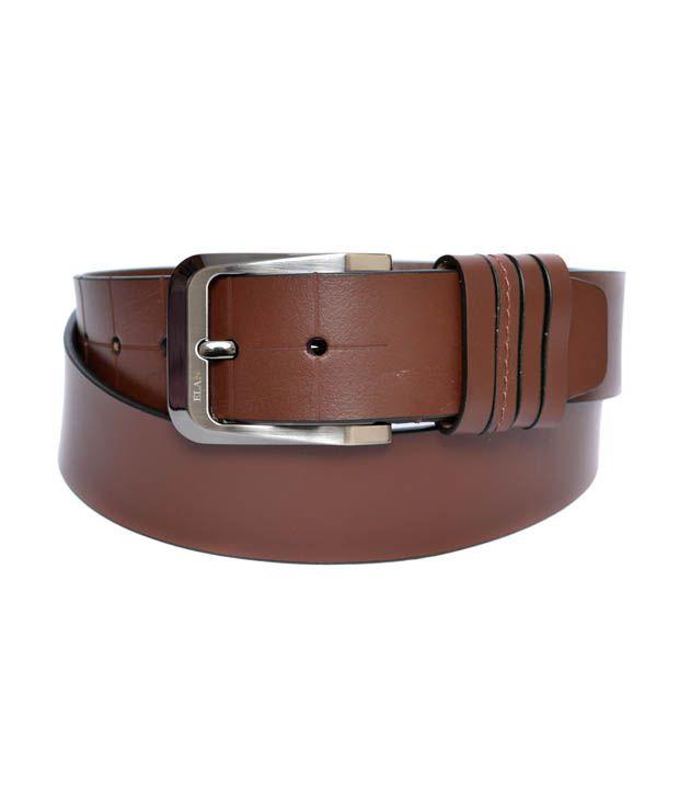 Elan Men's Leather Belt