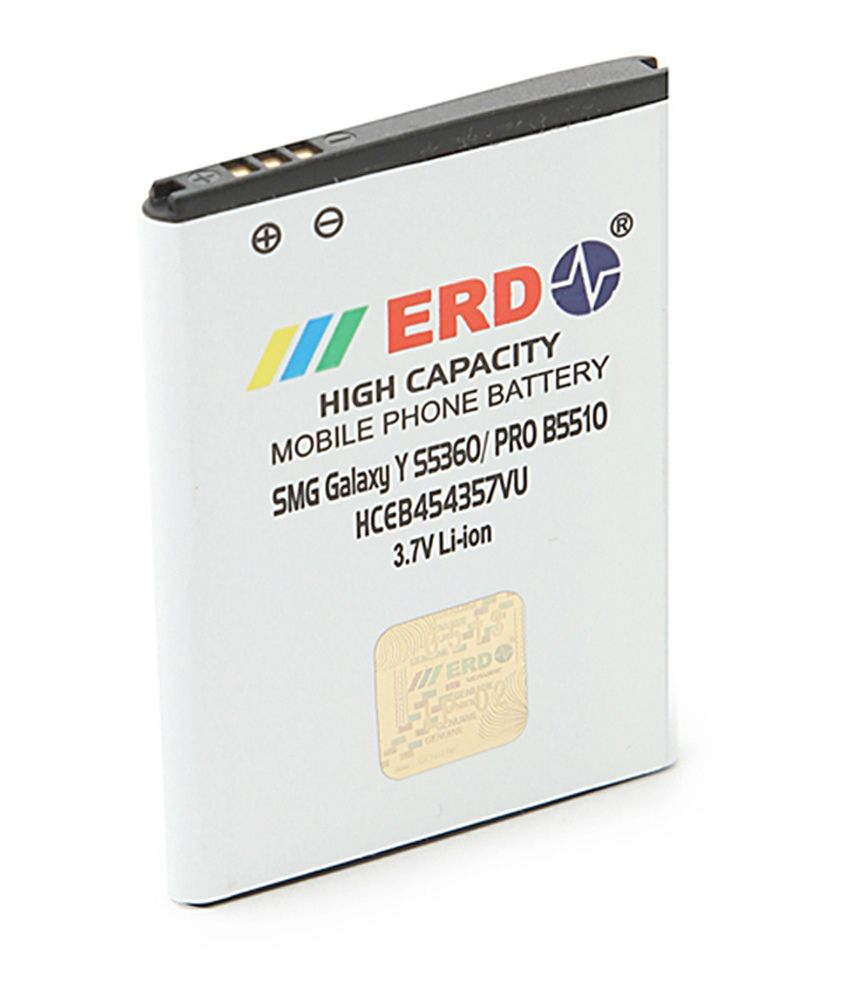 Erd Compatible Battery For Samsung Galaxy Y S5360