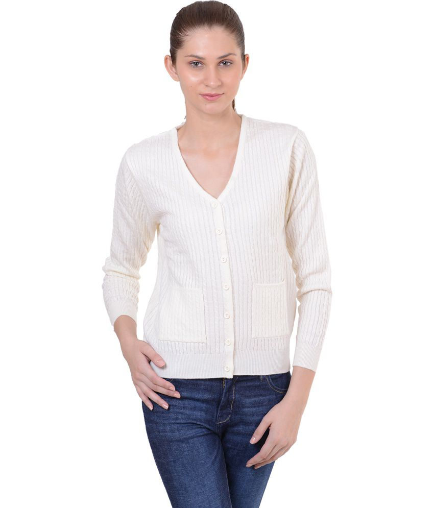 Buy Sportking White Acrylic Buttoned Cardigans Online at Best Prices in  India - Snapdeal 1753baf21
