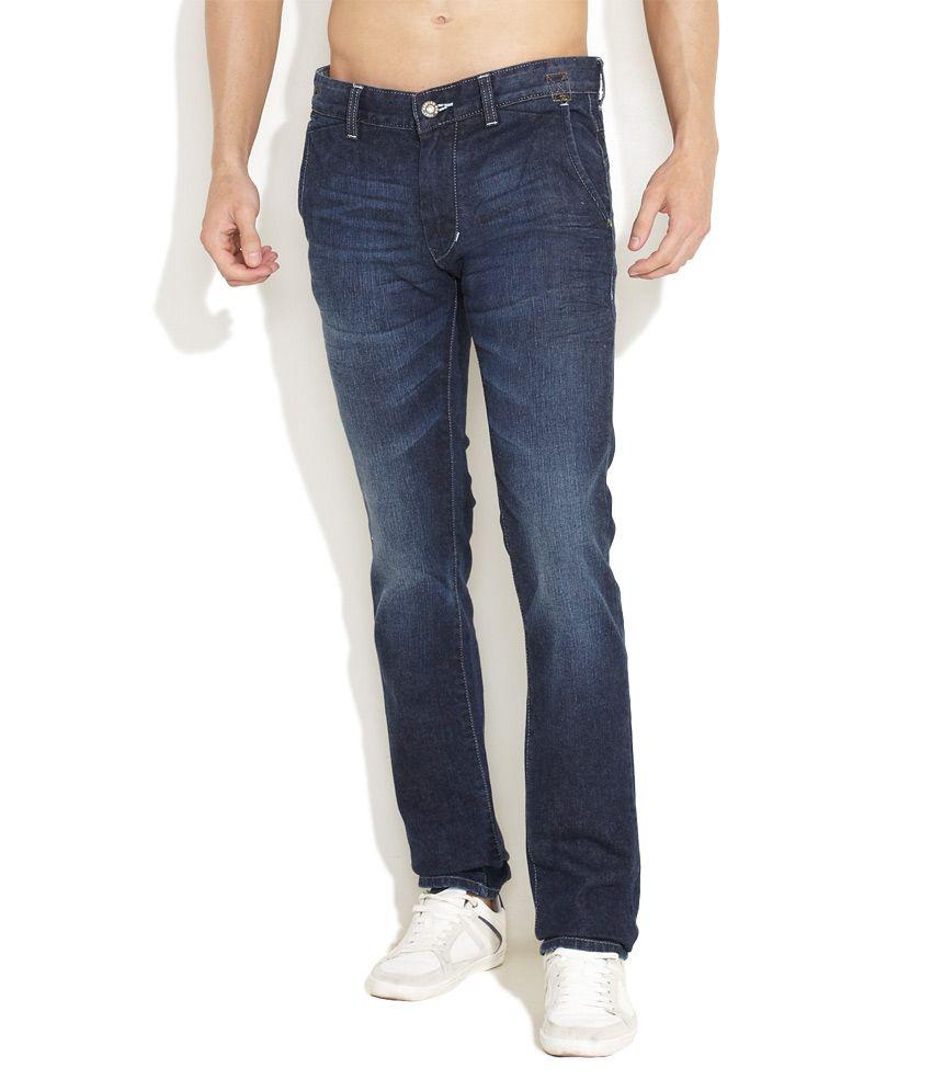 Numero Uno Medium Blue Numero Uno Too Hot Slim Fit Jeans