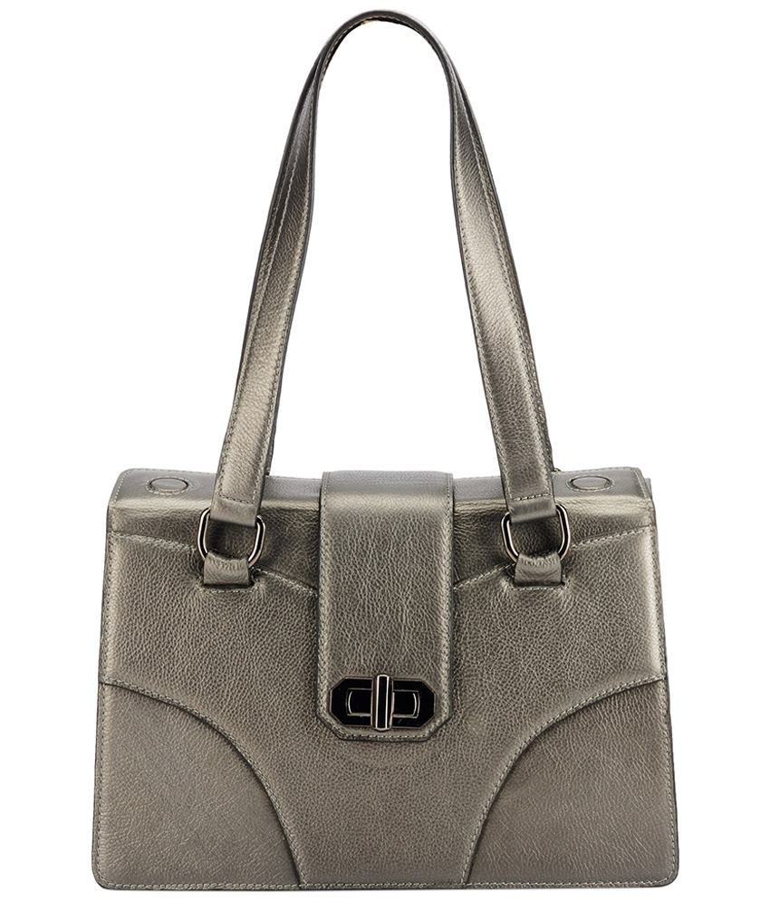 Phive Rivers PR784 Silver Shoulder Bags