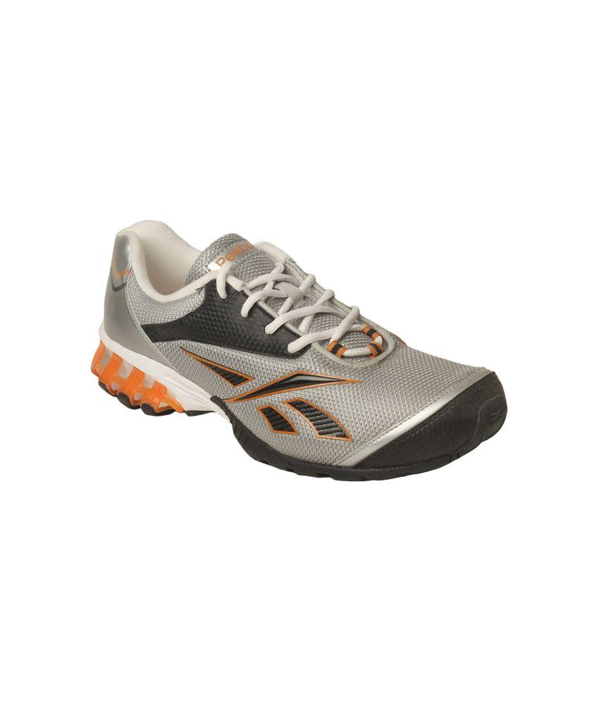 Reebok Gray Sports Shoes For Men