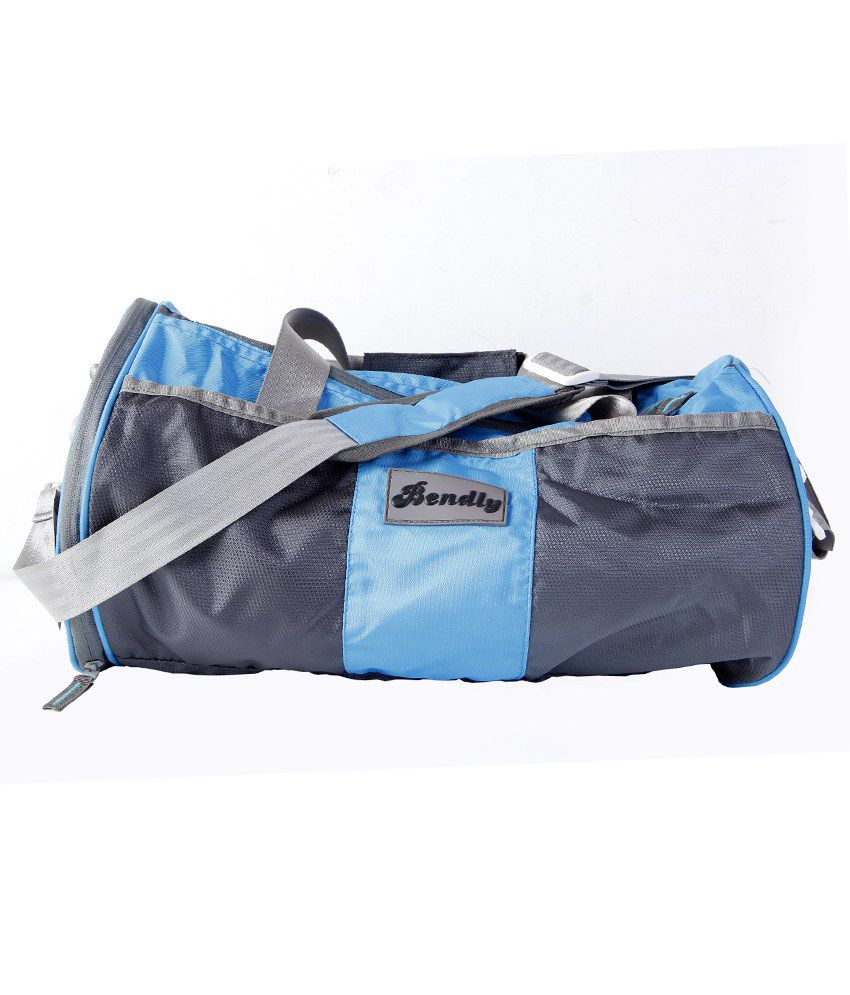 Bendly Smart Sky Blue gear Gym Bag