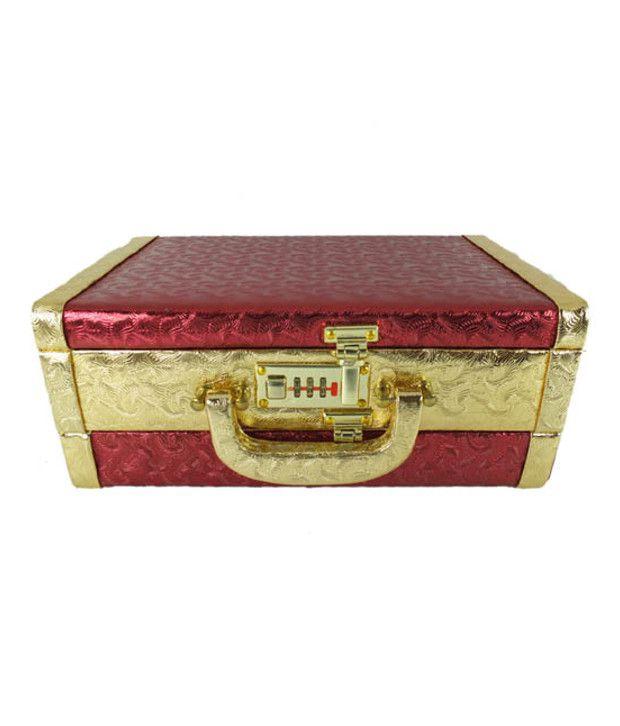 Golden Collections Garnishing Jewellery Box