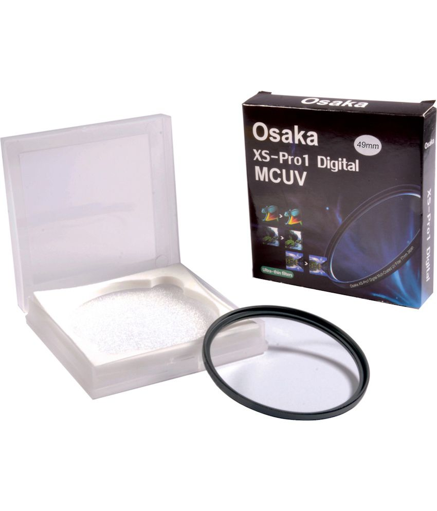 Osaka 49mm Multi Coated UV Filter Ultra Slim MCUV 12 Layer Coating