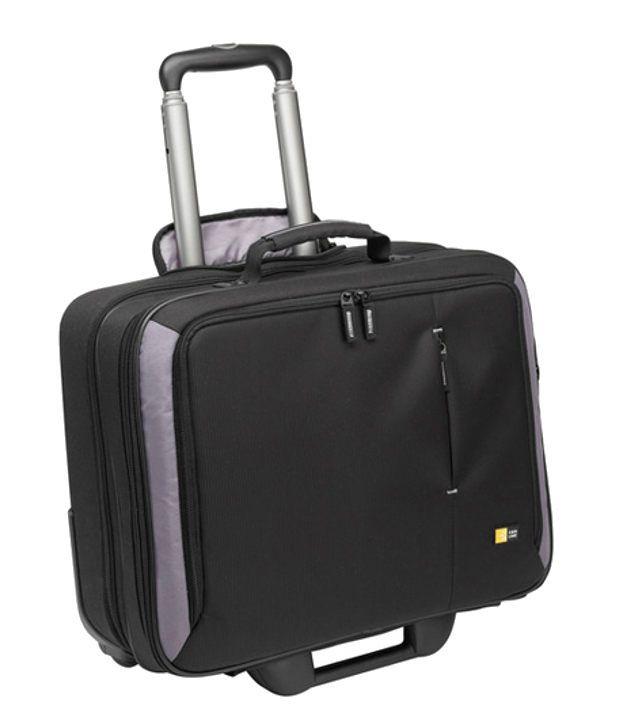 Case Logic Black 15-17 Inches Rolling Laptop Case